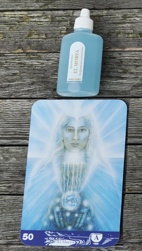 Aura-Soma Quintessenz light blue - El Morya