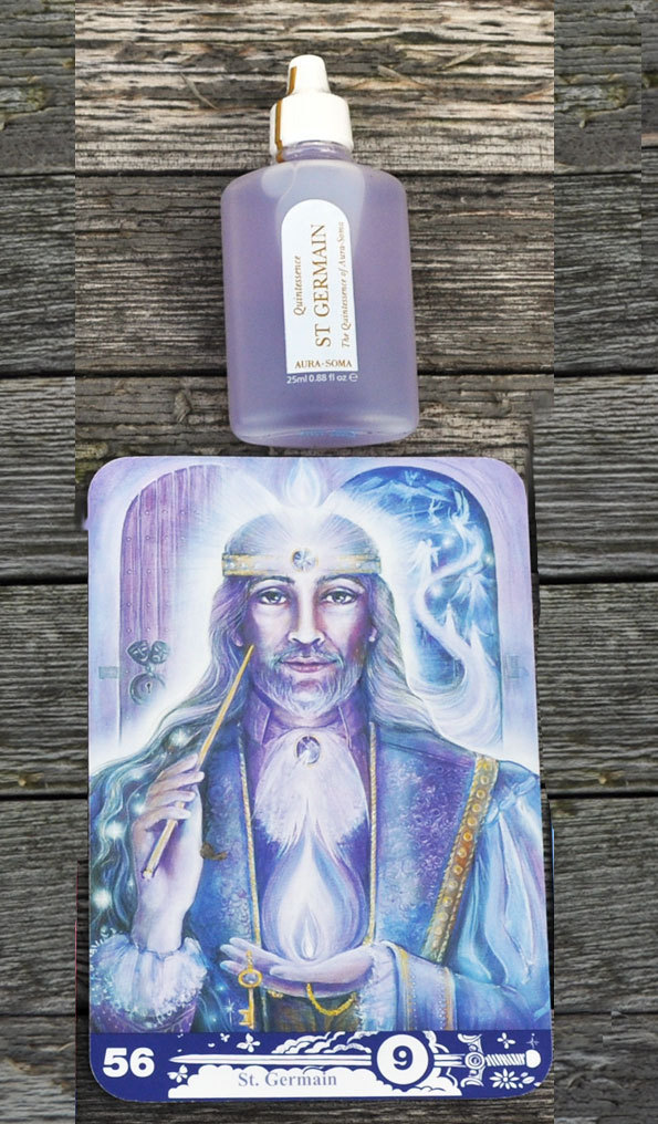 Aura-Soma Quintessenz light violet - Saint Germain