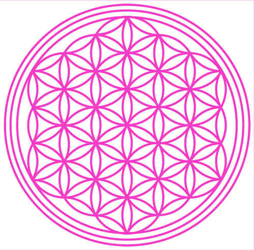 Flower Of Life - to iron on!